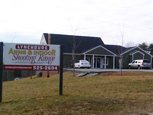 Direction and Hours for Lynchburg Arms and Indoor Shooting Range