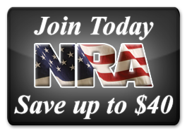 Join the NRA Today! Save up to $40.